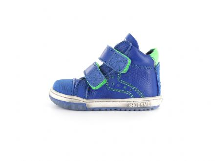 ShoesMe SMART Leather High Tops (Cobalt)